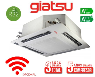 aire acondicionado cassette giatsu 4300 frigorias