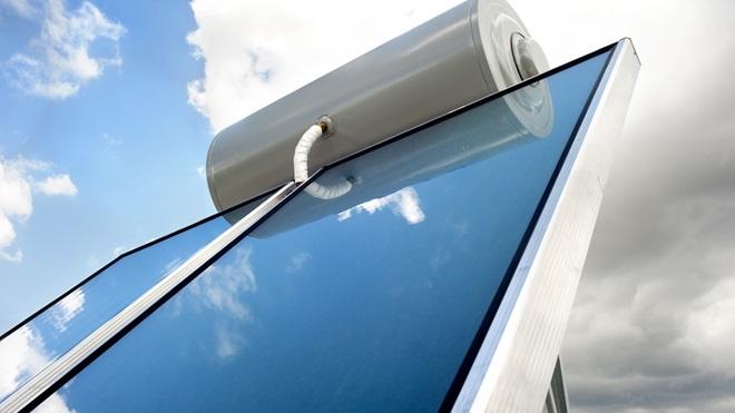 Placas solares para ACS y calefacción.
