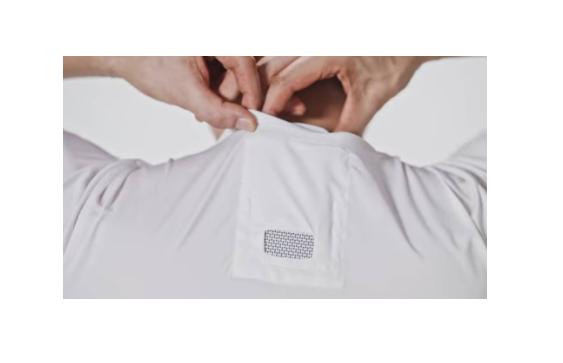 Aire acondicionado de bolsillo para llevar puesto