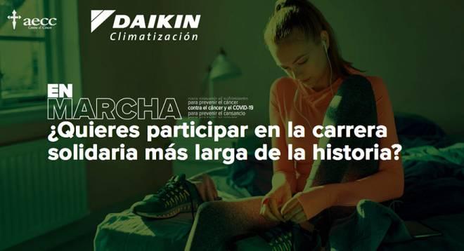 Daikin se suma a la carrera más larga de la historia organizada por la AECC